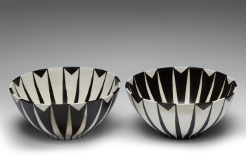 Bowls BW pair print