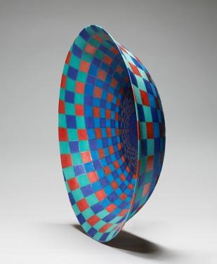 Bowl, Squares Spiral (i)