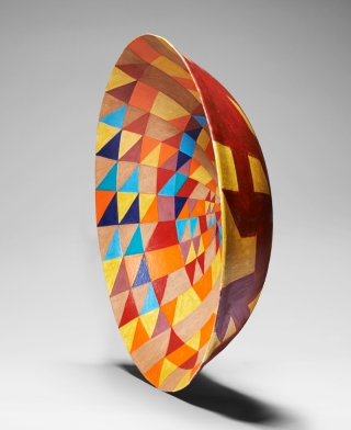 Bowl, Prime Numbers Spiral (i)