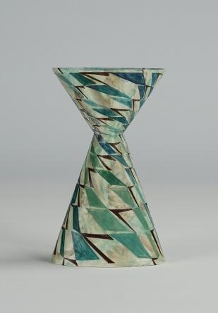 Cinched Oval Vase, Diagonal (ii)
