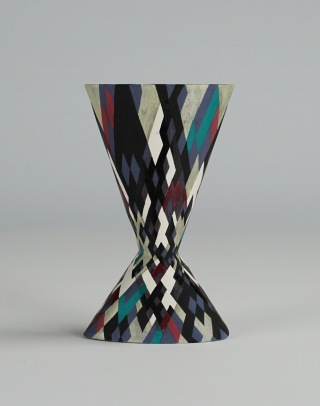 Cinched Oval Vase, Prime Numbers (i)