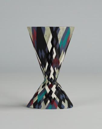 Cinched Oval Vase, Prime Numbers (i)