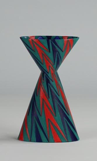 Cinched Oval Vase, Diagonal (iii)