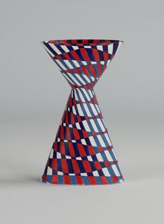 Cinched Oval Vase, Diagonal (i)