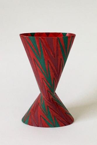 Cinched Oval Vase, Diagonal (iv)
